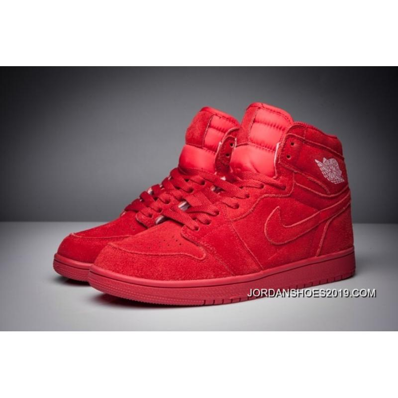 air jordan 1 red suede nz