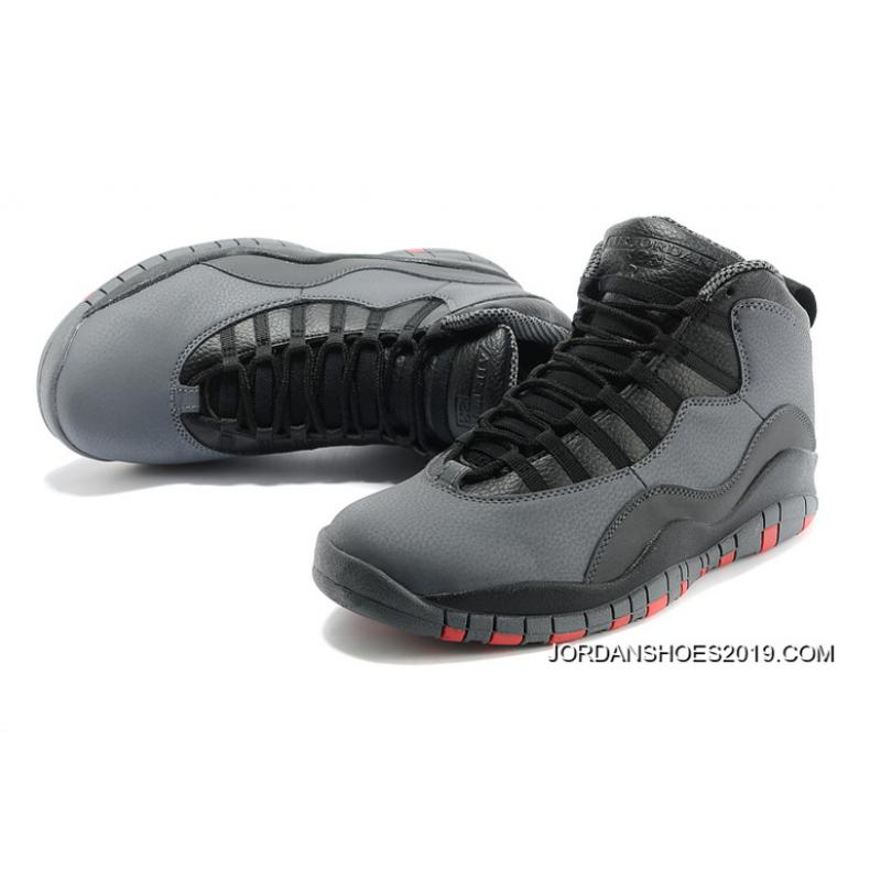 brand new 4fb7a 08e35 Air Jordan 10 Retro Cool Grey/Infrared-Black 2019 New Release