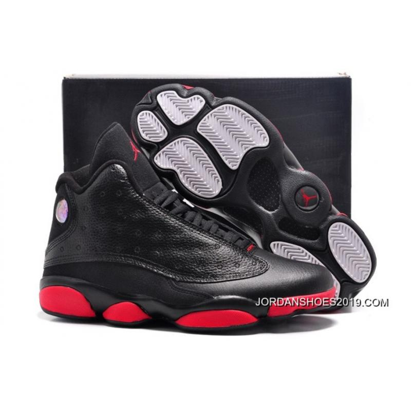2ddf6c25b4c838 wholesale 2019 new release air jordan 13 retro infrared 23 black red 7d1c0  42ae8