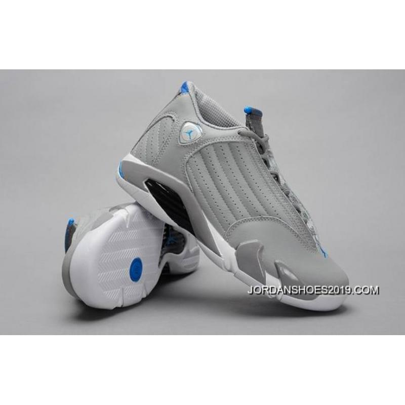 "4d302c98701f ... 2019 Outlet Air Jordan 14 Retro ""Sport Blue"" ..."