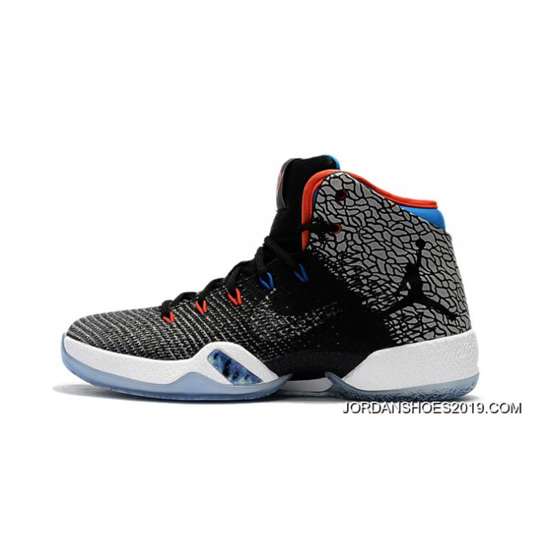 Air Jordan 30 5 Black/White/Orangered shoes online hot sale