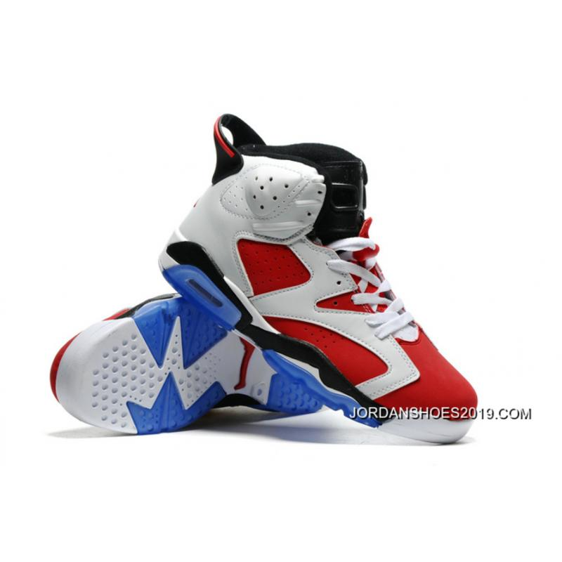 64cd64407097 ... france 2019 free shipping air jordan 6 carmine white carmine black  ffb8d ce47c
