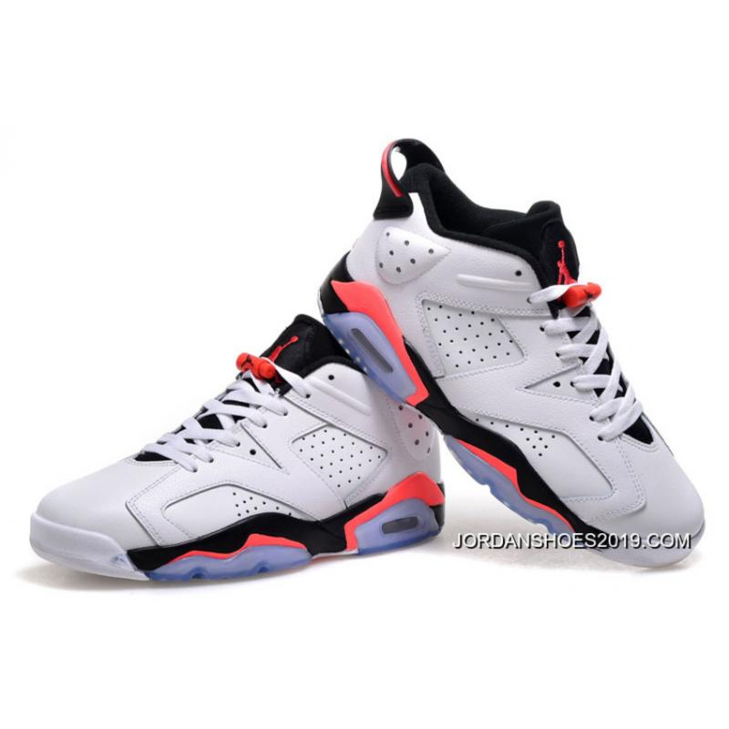 ... 2019 Copuon Air Jordan 6 Low White Infrared 23-Black f196051c2117