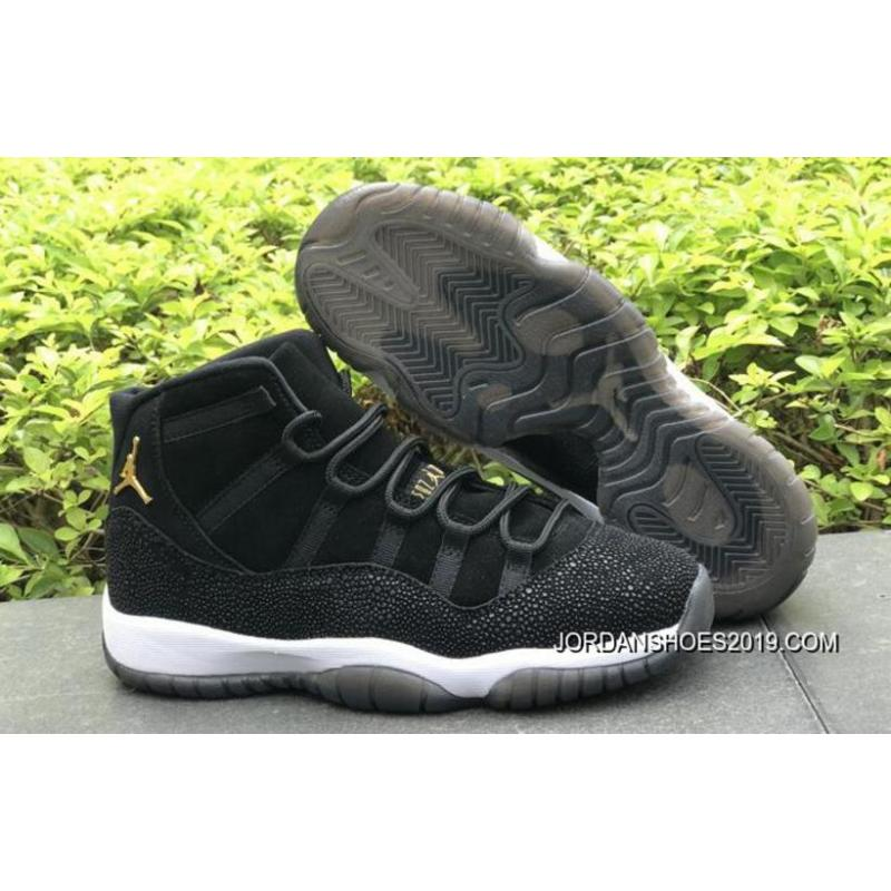 NIKE Air Jordan 11 PRM Heiress Black Stingray 852625030