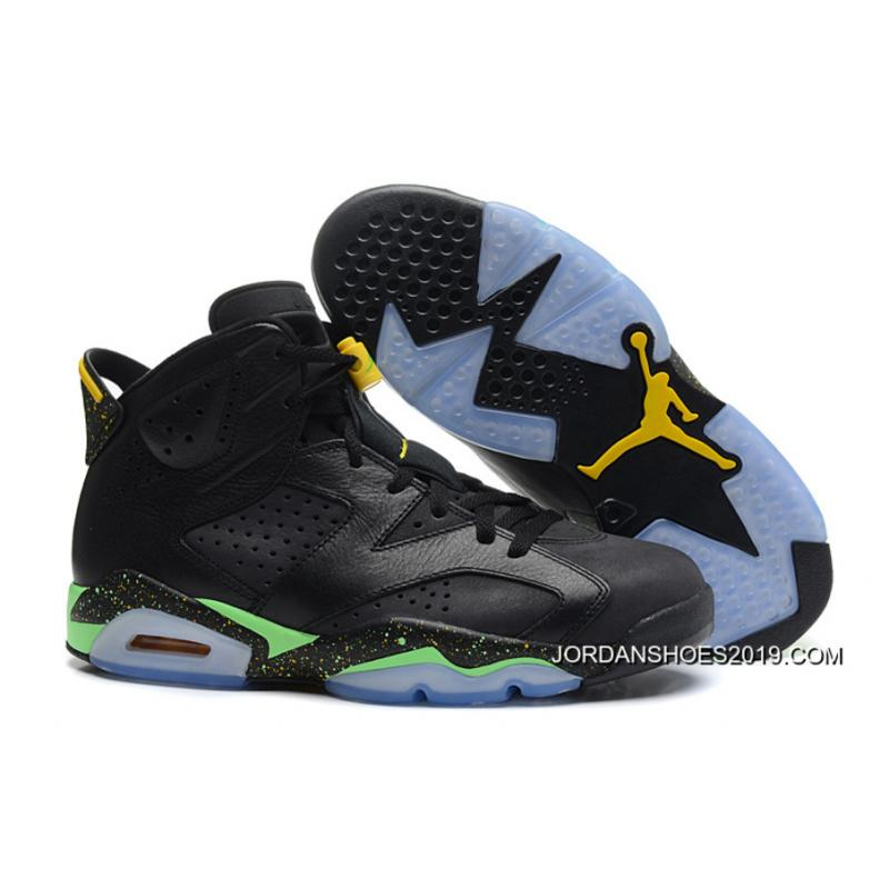 premium selection 4ef63 0f1bb ... usa air jordan 6 retro world cup black light lucid green tour yellow  4f212 af318