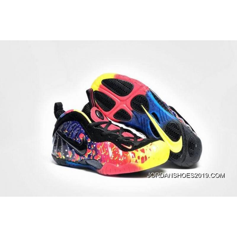 Girls Nike Air Foamposite GS Amazing Asteroid