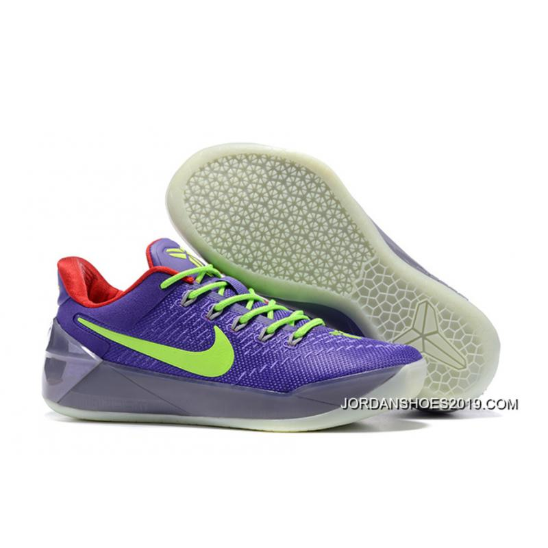 1585eb392a57 2019 New Style Girls Nike Kobe A.D. Purple Green Red ...