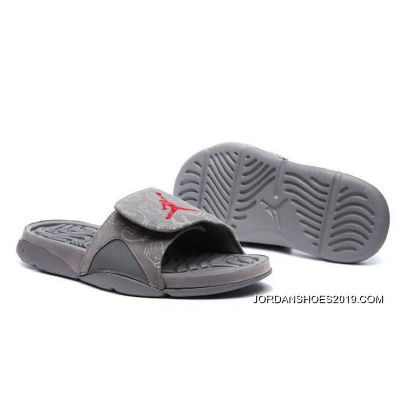 "78af35a7001410 KAWS X Air Jordan 4 ""Cool Grey"" Glow In The Dark Slide Sandals 2019 ..."