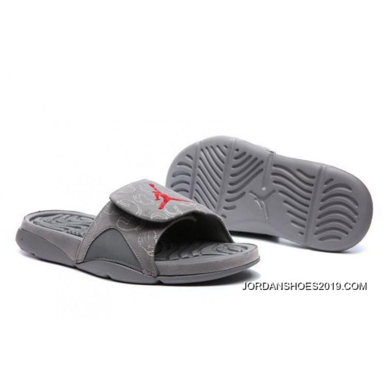 "new style eaf5b 7b91d KAWS X Air Jordan 4 ""Cool Grey"" Glow In The Dark Slide Sandals 2019 Latest"