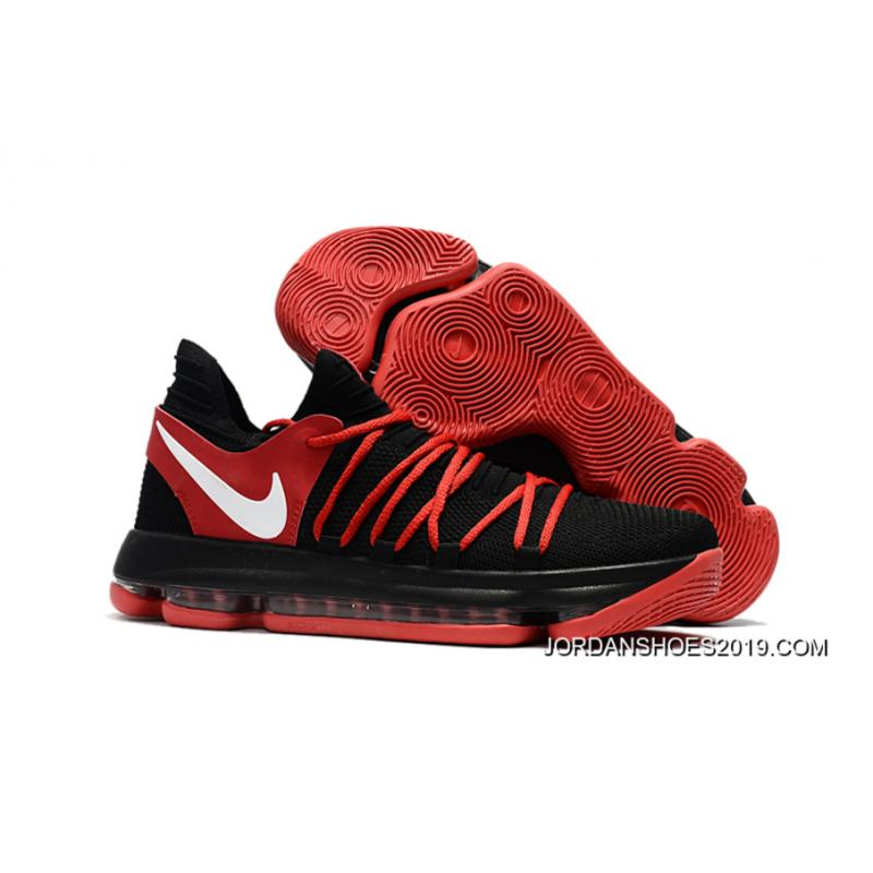 Nike Kd 10 Black Red White New Year Deals