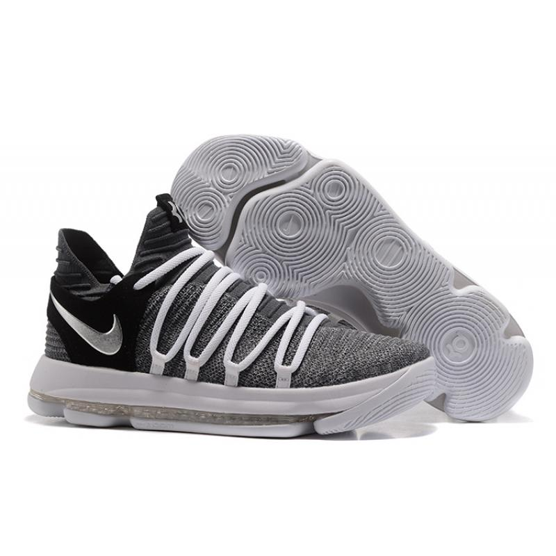 7cf13c430ed Nike KD 10 EP Cool Grey White Black Discount ...
