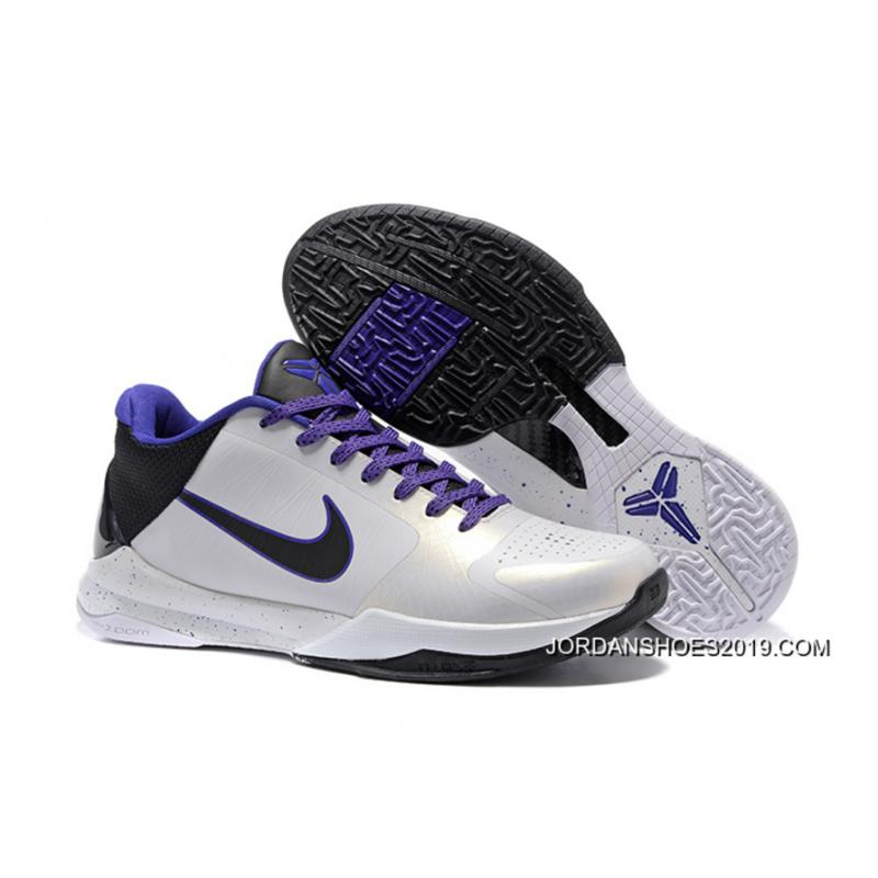 ad18a311009 ... spain 2019 online nike zoom kobe 5 white black purple bed7b 70a86