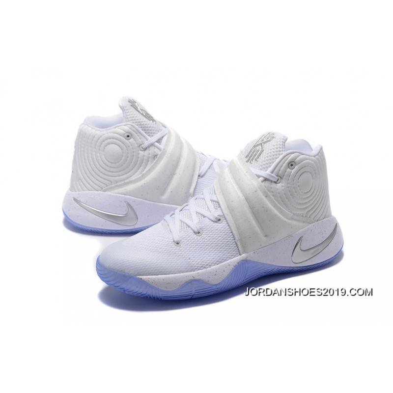 adf1c095f420 ... usa 2019 new release nike kyrie 2 silver speckle white metallic silver  tour b5f45 b608c