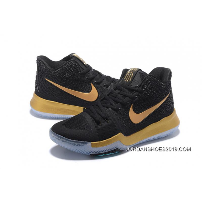 """separation shoes ae0bf 13656 ... 2019 New Year Deals Nike Kyrie 3 """"Black Gold"""" ..."""