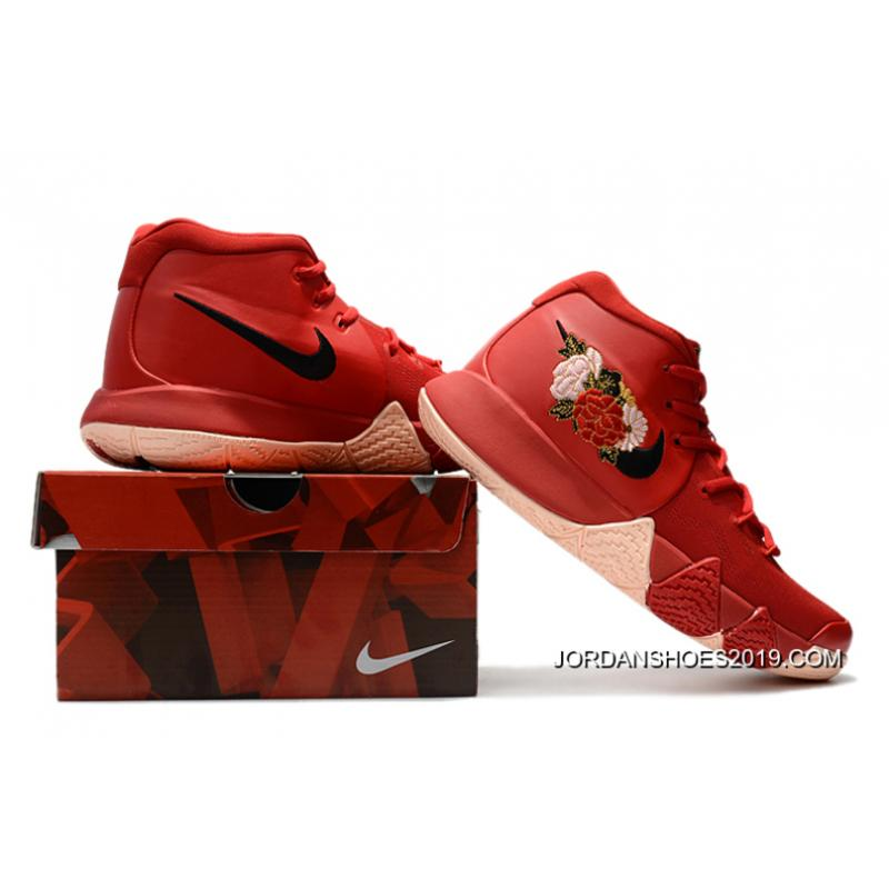 """c94f35731689 ... Nike Kyrie 4 """"Floral"""" Red Peony Online"""