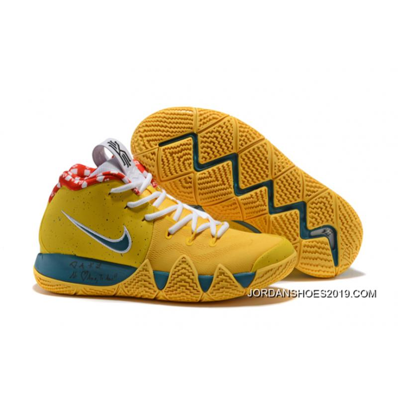 "new style cadc6 e8d3b Best Nike Kyrie 4 ""Yellow Lobster"" PE ..."