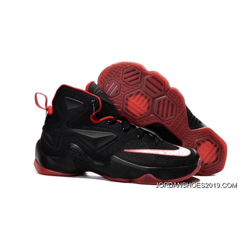 wholesale dealer f41ca 454e9 Nike Lebron 13 Black Red Men Basketball Shoes For 2019 Latest ...