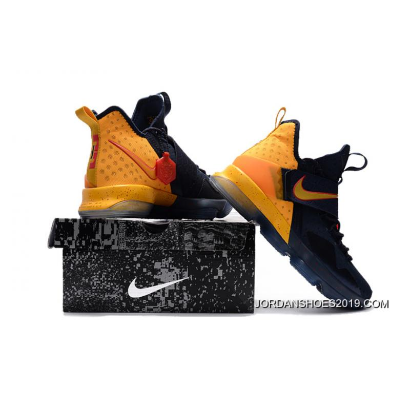 f336e196bd17 ... discount code for 2019 copuon nike lebron 14 navy yellow red eab02 1cbd0