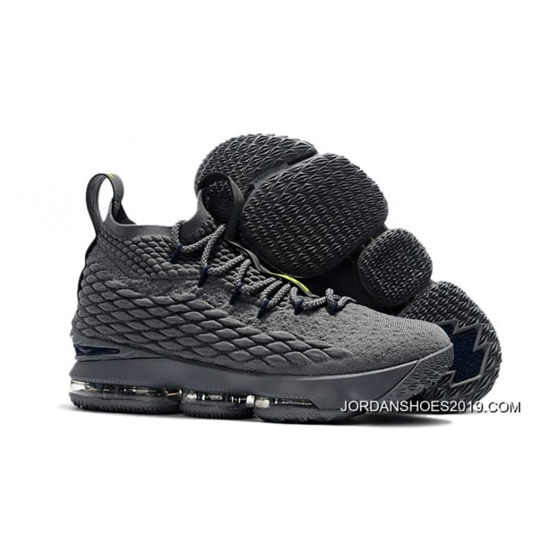"2019 Free Shipping Nike LeBron 15 ""Wolf Grey"" Shoes, Price ..."