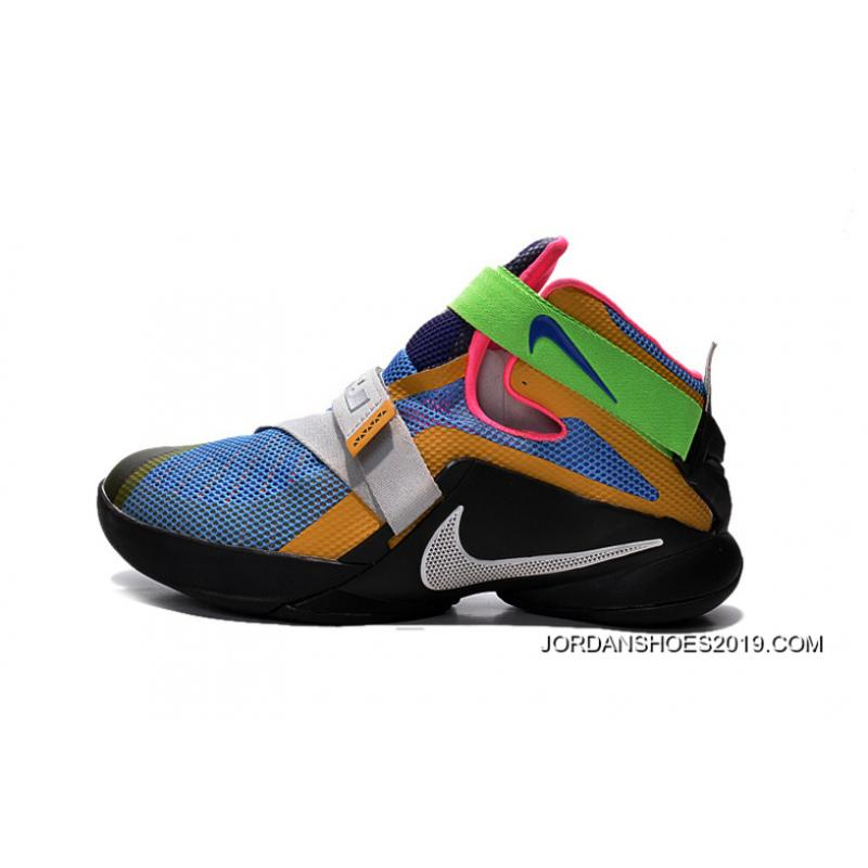 "Nike LeBron Soldier 9 ""What The LeBron"" Multi Color/Black ..."