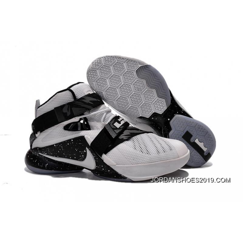2019 Super Deals Nike LeBron Soldier 9 White Black ...