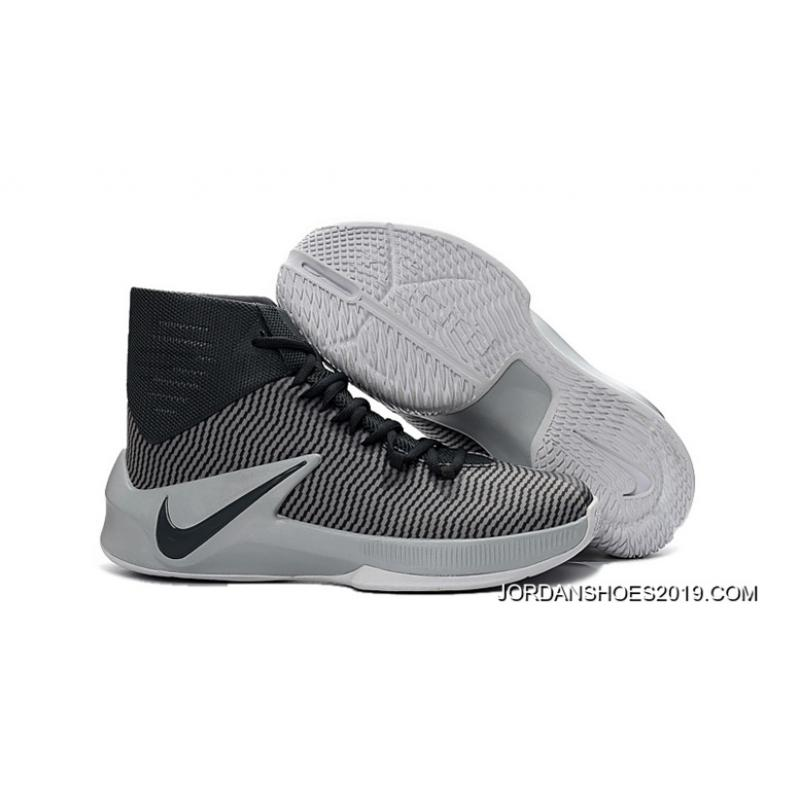 wholesale dealer c1b83 de30c Nike Zoom Clear Out Cool Grey Black Wolf Grey White 2019 Outlet ...