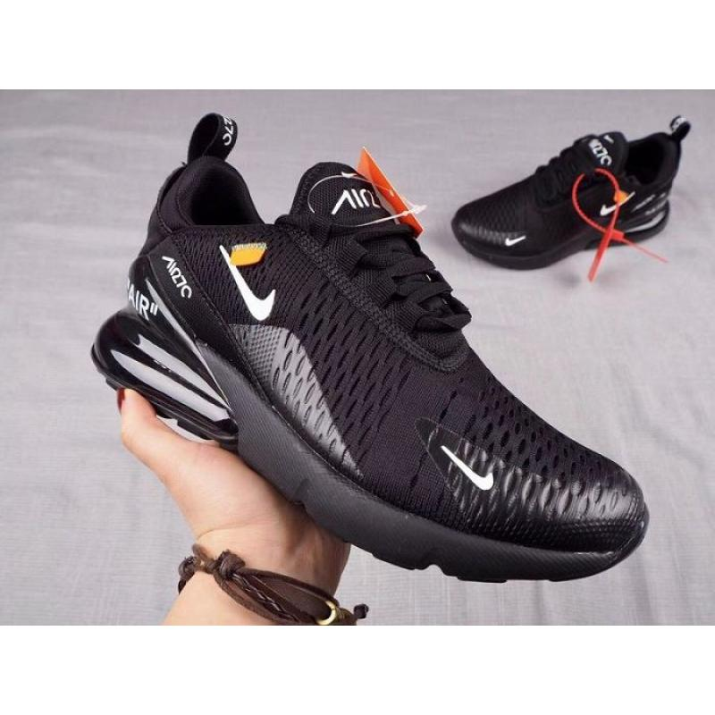 85910b876 New Release Men OFF-WHITE X Nike Air Max 270 Running Shoe SKU 113748 ...