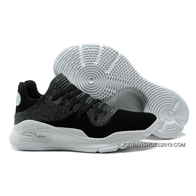 "ff2f64f212b 2019 Latest Under Armour Curry 4 Low ""Oreo"" Black White ..."