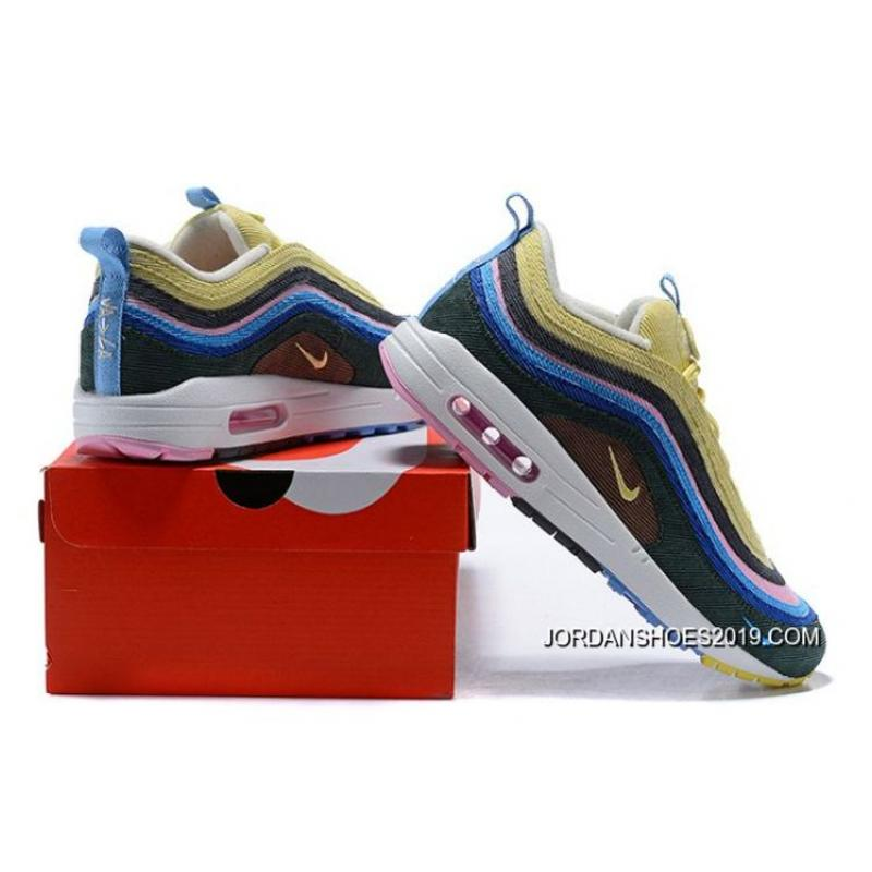 ... Latest Women Sean Wotherspoon Nike Air Max 97 Hybrid SKU 88206-257 ... 79d2ad298