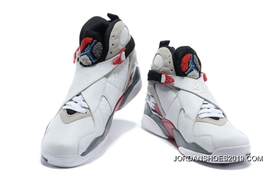 """68ee21a5c1ed24 2019 For Sale Air Jordan 8 """"Bugs Bunny"""" White Black-True Red"""