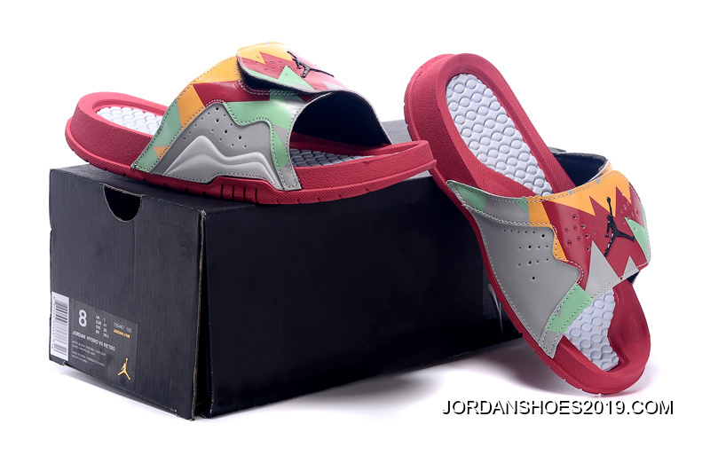 "629e8825274f Jordan Hydro 7 Retro ""Hare"" Slide Sandals 2019 For Sale"