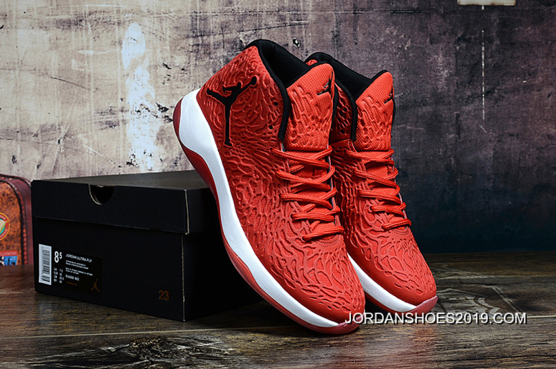 sports shoes 161c0 dc969 Jordan Ultra.Fly Gym Red Black-Infrared 23 2019 Free Shipping