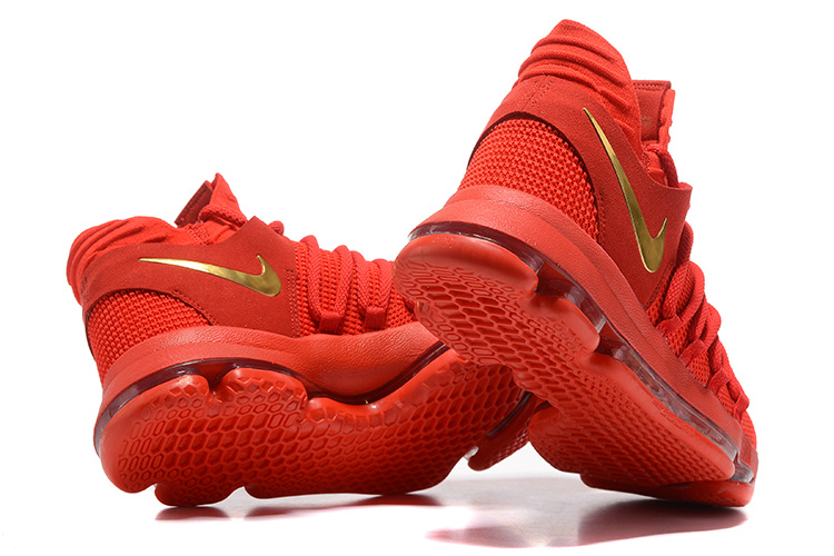 e98d39f7336 Nike KD 10 Gym Red Gold Online