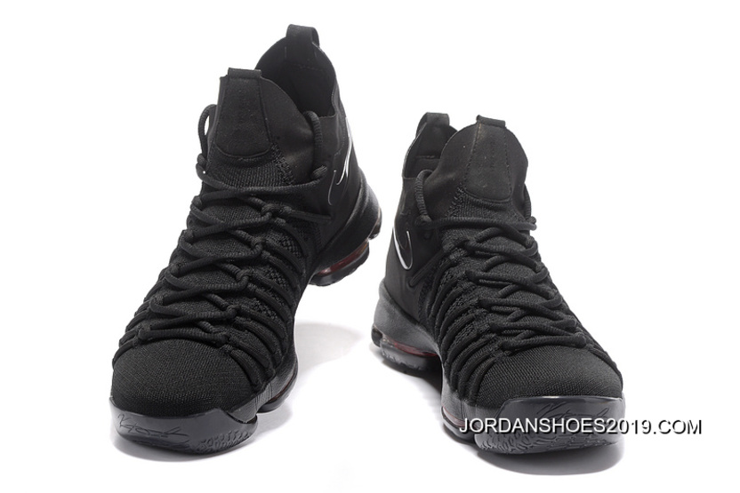 4f0f6be39816 2019 Top Deals Nike Zoom KD 9 Elite All Black