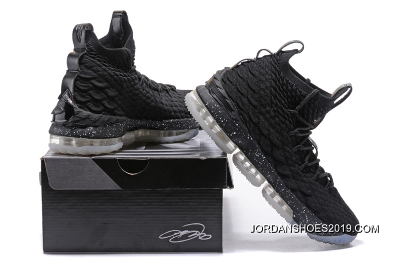 "best service 828a3 53cde Nike LeBron 15 ""Oreo"" Black White Shoes 2019 Free Shipping"