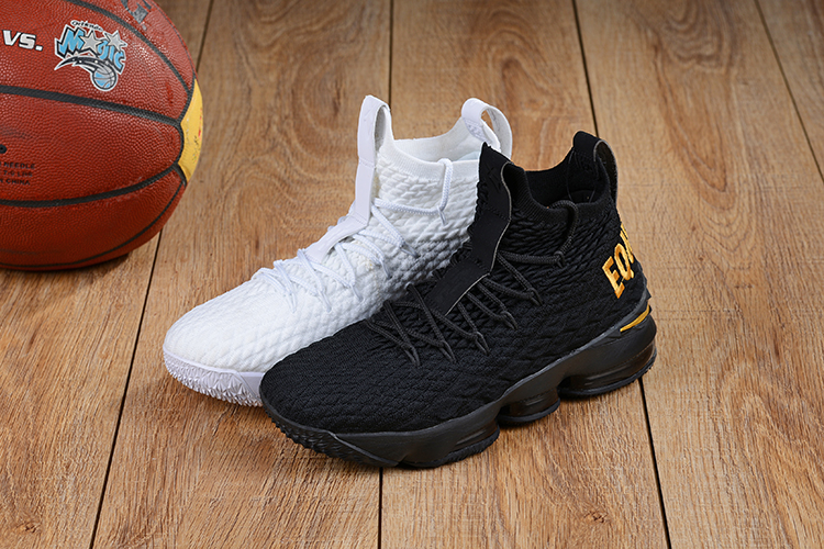 4dc754e0e448 Nike LeBron 15  Equality  PE Pack White And Black Copuon