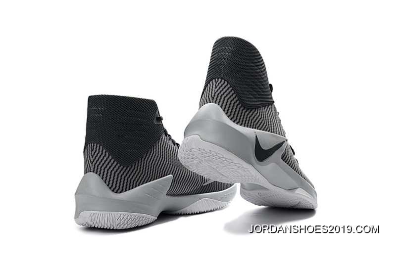 buy online dcd6a 73dbf Nike Zoom Clear Out Cool Grey Black Wolf Grey White 2019 Outlet