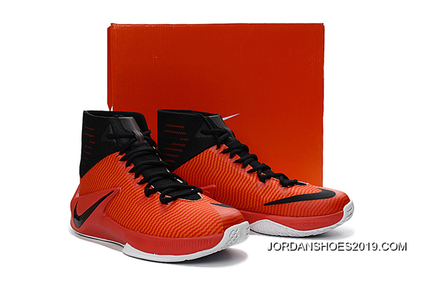 c5fb6eb961a3 2019 Top Deals Nike Zoom Clear Out University Red Black Bright Crimson White