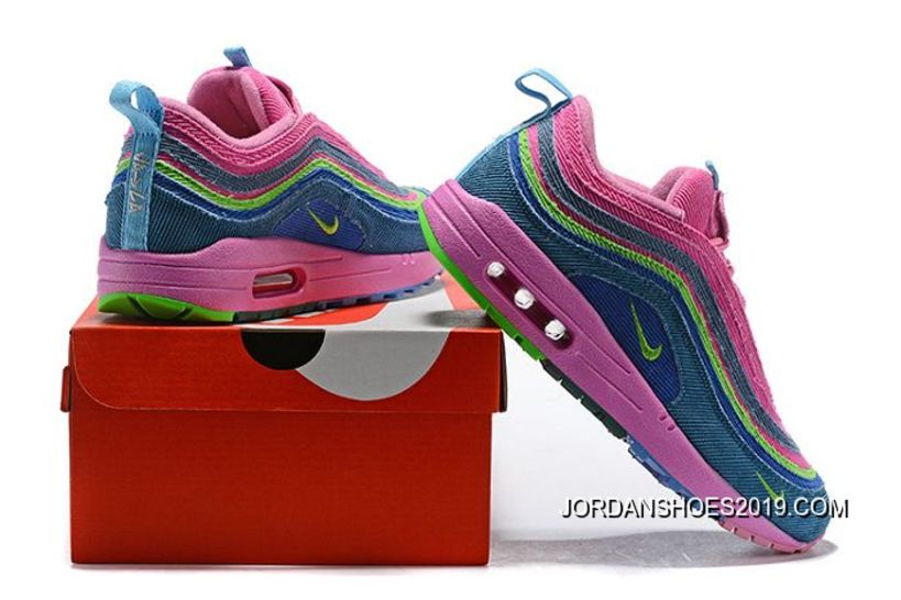 eb82ccd4f6 Women Sean Wotherspoon Nike Air Max 97 Hybrid SKU:107422-272 Authentic